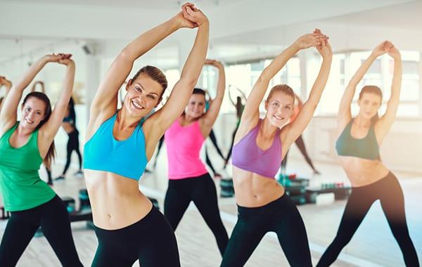 фитнес дома для похудения под музыку