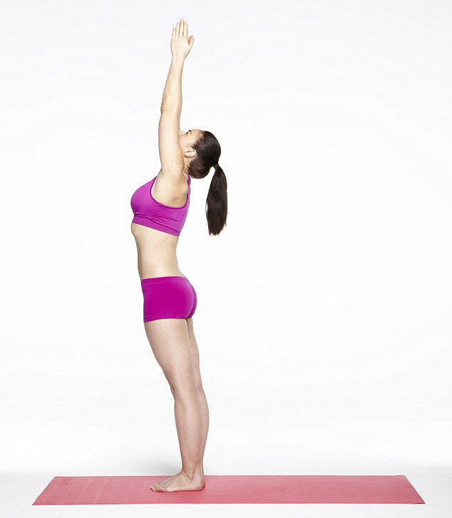 Yoga is not only a great tool for weight loss, it will make you more toned and flexible too (picture posed by model)
